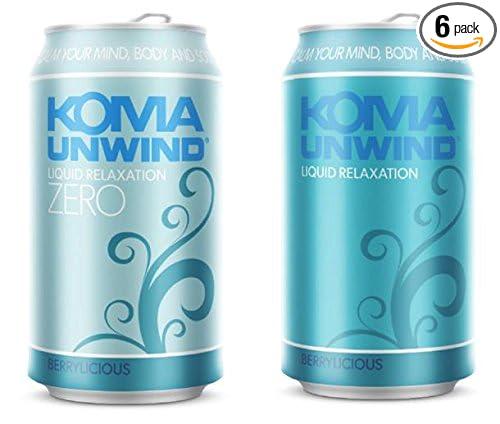KOMA UNWIND Relaxation Drink Sugar Free (6 pack)
