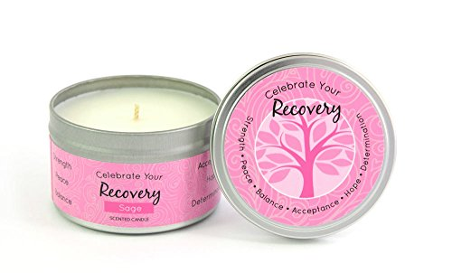 Celebrate Your Breast Cancer Recovery Candle 6.5 oz