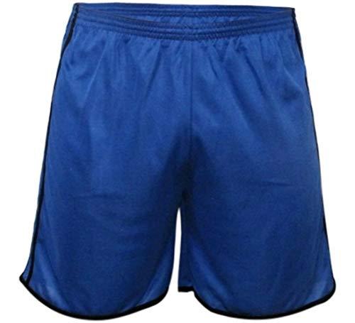 Calção Futebol Kanga Sport Modelo 2 Faixa Em Dry Fit