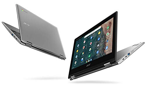 "Acer Chromebook Spin 311 CP311-2H-C3KA Convertible Laptop, Intel Celeron N4000, 11.6"" HD Touchscreen, 4GB LPDDR4, 64GB eMMC, Gigabit WiFi, Bluetooth 5.0"