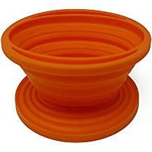 Silicone Collapsible Coffee Drip/Percolator - Easy to Use and Clean- Perfect for Camping, Hiking, RV - Dishwasher-Safe