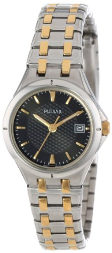 Pulsar Women's PXT829 Stainless Steel Dress Sport Watch with Link Bracelet
