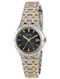 Pulsar Women's PXT829 Stainless Steel Dress Sport Watch with Link Bracelet