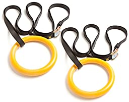 Nayoya Gymnastic Rings for Full Body Strength and Muscular Bodyweight Training