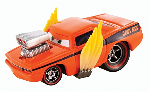 Snot Rod - Disney Pixar Cars Tuners #3/8 Snot Rod with Flames 1:55 Scale Die-cast