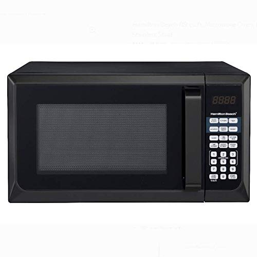 Amazon.com: Hamilton Beach 0.9 Cu. ft. Horno de microondas ...