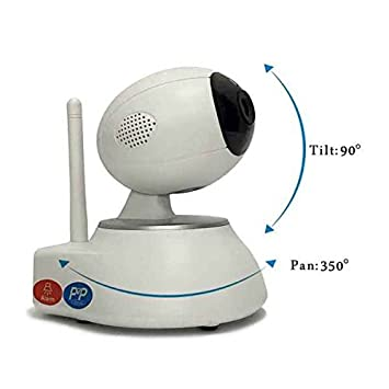 Cámara IP Camera Full HD, audio bidireccional, email Guardia, Videocámara de Vigilancia WiFi