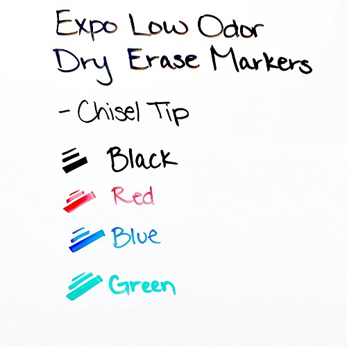 Expo Low-Odor Dry Erase Set, Chisel Tip, 15-Piece, Assorted Colors by Expo (Image #1)