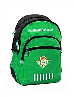Mochila Real Betis 2018/2019 con con Base Reforzada y Adaptable al Carro. Medidas:32x16x42cms.: Amazon.es: Libros