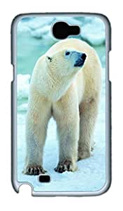 Cool Protective PC Case Skin for Samsung Galaxy Note2 N7100 with Polar Bear (White) hjbrhga1544