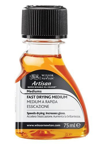- Fast Drying Medium for Artisan Water Mixable Oil WINSOR & NEWTON - 75ml Bottle by Winsor & Newton