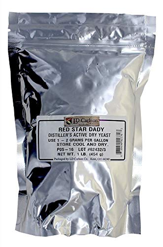 - Red Star Dady 9804 Distillers Active Dry Yeast, 1lb