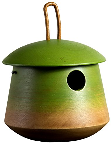 Byer of Maine Mango Tree Tumble Bird Home by - Mango Wood Garden Bird House