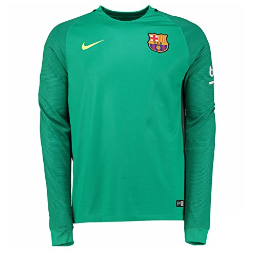 Nike FC Barcelona YTH LS GK Stadium multicolore - vert clair/jaune (Lucid Green / Volt) TBbxVQA
