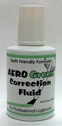 AeroGreen Professional Logbook Correction Fluid by Aero Phoenix