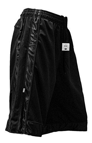 Pro Club Mesh Shorts Heavyweight Basketball Men's S-5xl (2X-Large, Black)