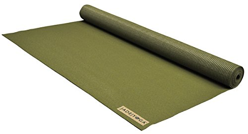 Jade Yoga Mat Yoga Travel Olive Green .0625In X 68In, 1 Each