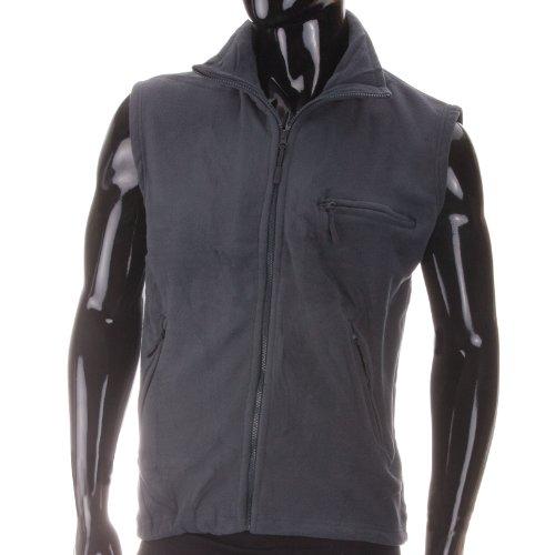 N&Y Fleece Weste - kuschlig in frischen Farben, Farbe:Grau;Grš§e:XL