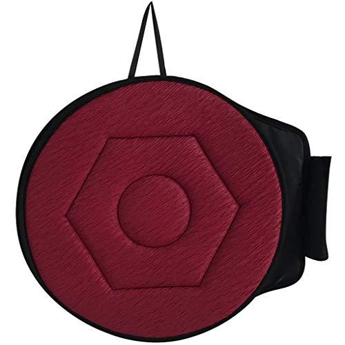 (Transser Car Seat Cushion - Rotating Memory Foam Cover Pad Revolving Swivel Chair Mobility Aid Cushion Protector (B))