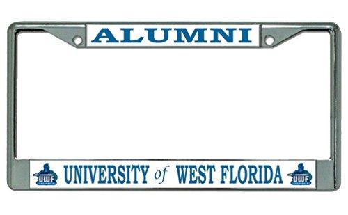 University of West Florida Alumni License Plate Frame -