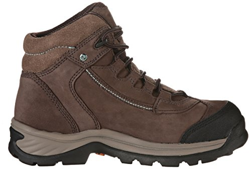 Work Boot PRO Women's Timberland Hiker Ratchet Leather Brown Nubuck yaB1WczWRH
