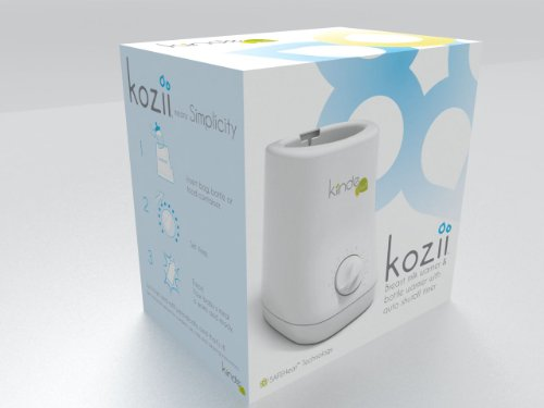 41f kexCI L - Kiinde Kozii Baby Bottle Warmer And Breast Milk Warmer For Warming Breast Milk, Infant Formula And Baby Food