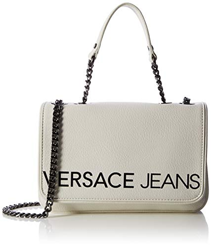 Jeans bianco X A Ottico Cm 4x15 L H Bag Borsa Bianco Versace 5x24 w Donna Tracolla Tw6aTq