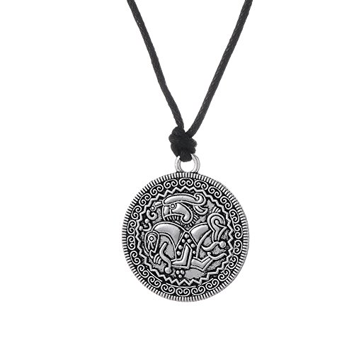 Swedish Amulet Charms Viking Pendant Coin Necklace for sale  Delivered anywhere in USA