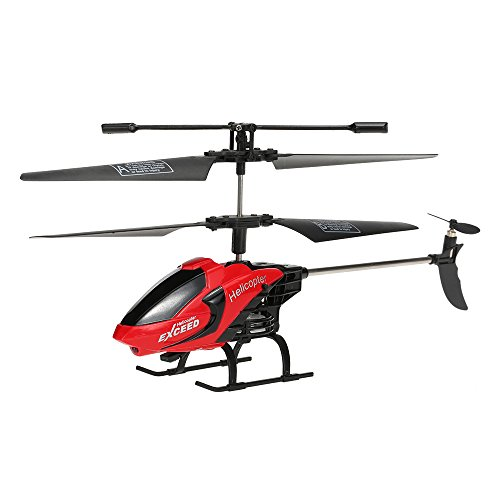 GoolRC Remote Control Helicopter Toys with LED Light Navigation & Gyroscope...