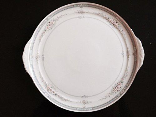 Noritake Rothschild Cake Plate, Handled, Ivory (Noritake Handled)