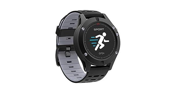 WCPZJS F5 GPS Reloj Inteligente Altímetro Barómetro Termómetro ...