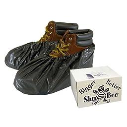 ShuBee® Waterproof Shoe Covers - Black