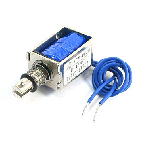 Solenoid Plunger - Uxcell Push Pull Electric Electromagnet Solenoid, DC 12V, 8N Force, 10 mm Stroke