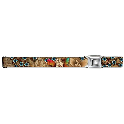 (Starburst Seatbelt Belt - Tattoo Johnny - Fairies Design Artwork)