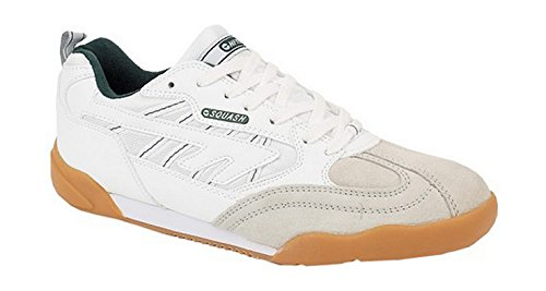 Hi-Tec Lace-Up Textile Lined Unisex Trainer - White - Size 6