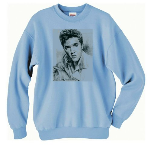 Elvis Sweatshirt (Large, Light - Sweatshirt Elvis