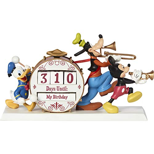 Precious Moments Disney Showcase Mickey and Friends Countdown 191702 Calendar, One Size, Multi
