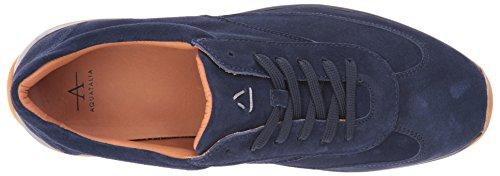 Aquatalia US 11 Zander Navy Sneaker Fashion Men M rfxq0r