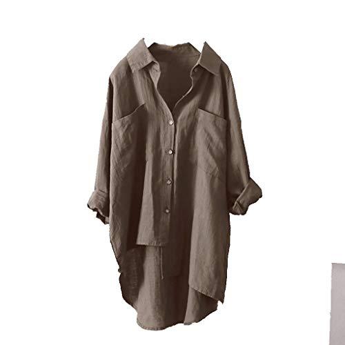 シャツ カーディガン 多用途 Duglo Tシャツ 無地 レディース 綿 大きいサイズ 女性 コットン 長袖 ブラウス 春 秋 Vネック セクシー 夏 シンプル カジュアル 不規則 おしゃれ 可愛い トップス きれいめ 上着 通勤 ゆったり 通学 冷房対策