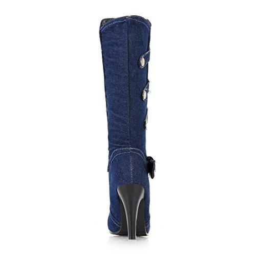 Toile de Bottines UH Jeans et Bottes Femmes fq711IwB