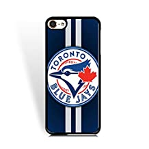 MLB-Ipod Touch 6th Generation Cover Toronto Blue Jays for Athlete Protective Baseball Team Logo Case for Ipod Touch 6th Generation Hard Plastic