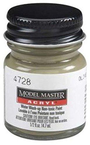 Olive Drab Testors Acrylic Plastic Model Paint