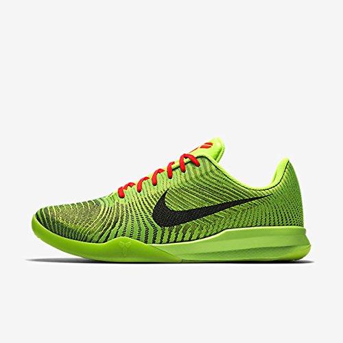Nike KB Mentality II 2 Kobe Bryant Grinch Men Basketball Shoe 818952 300  (green)