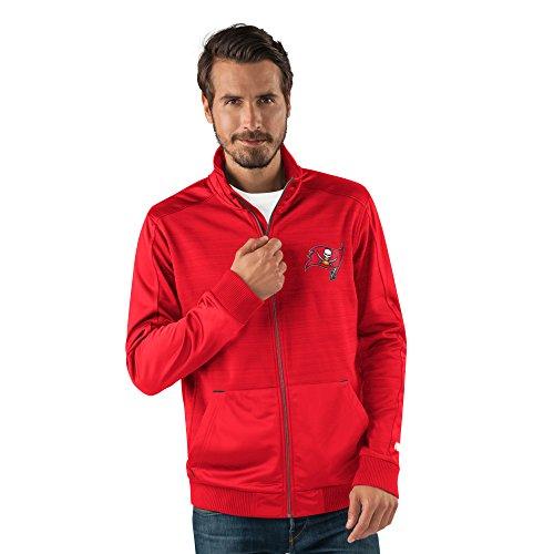 Jacket Buccaneers Tampa Bay (NFL Tampa Bay Buccaneers Men's Progression Full Zip Track Jacket, XX-Large, Red)