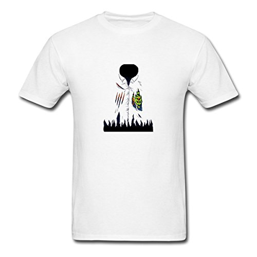 Renting Zombie Attack Costume t Shirt For Men Cute Cotton Tee Short Sleeve Size L White