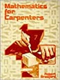 Mathematics for Carpenters, Bradford, Robert, 0827311168