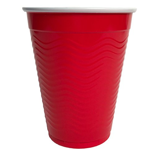 Amazon-Brand-Solimo-18oz-Disposable-Plastic-Cups-300-Count-Red