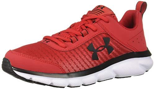Under Armour Kids' Grade School Assert 8 Sneaker, Red (601)/White, 6 ()