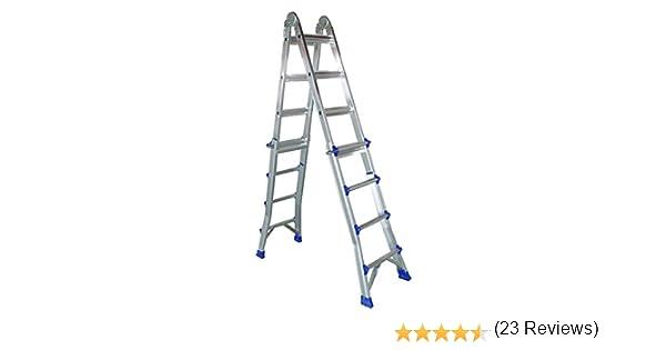 COAMER B-46 Escalera multiposiciones (aluminio): Amazon.es: Bricolaje y herramientas