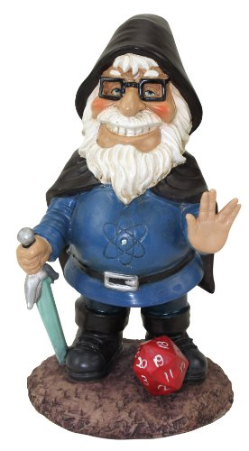 BigMouth Inc Beard-O-The Geeky Garden Gnome